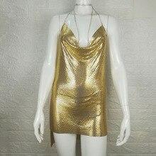 Crystal Metal glitter Dresses