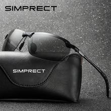 SIMPRECT 2019 Photochromic Sunglasses Men Polarized UV400 High Quality Metal Driving Sun Glasses Fashion Brand Design Sunglass