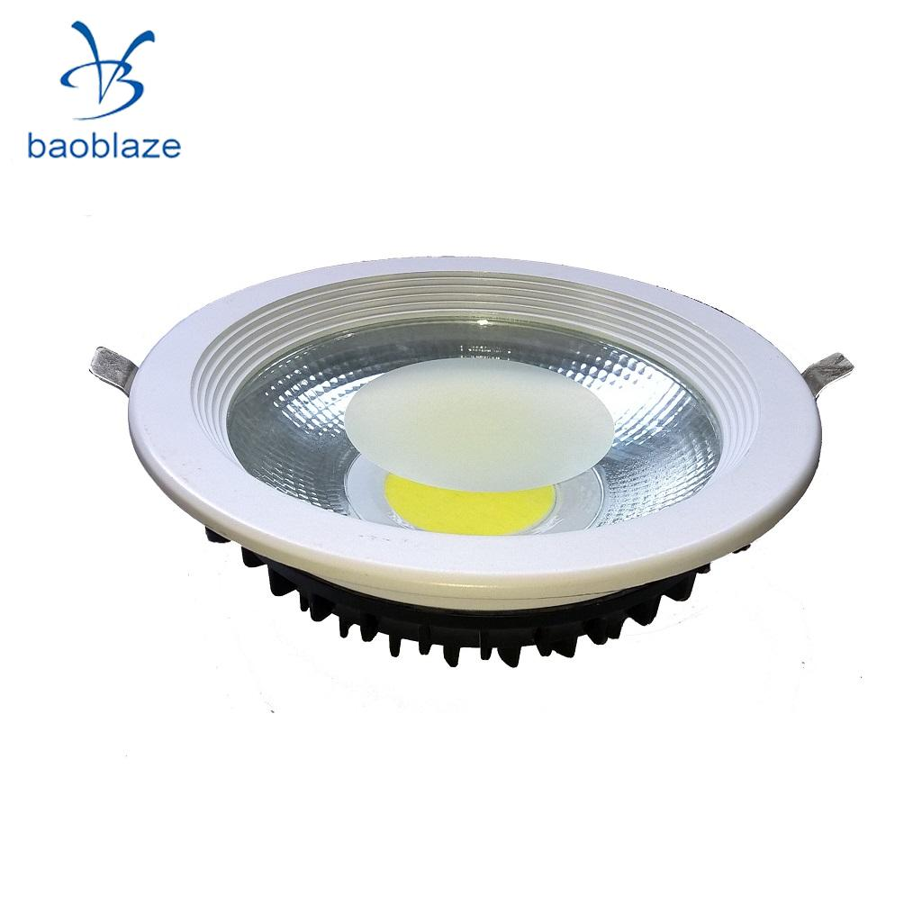 Baoblaze Dimmable 20w Led Cob Downlight Recessed Ceiling Light Lamp Bulb White In Led Bulbs
