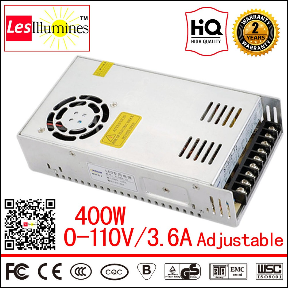 110V 220V Converter AC DC LED Transformer Regulable CE ROHS DC Voltage Output Adjustable 0-110V 3.6A 400W Switching Power Supply 12v adjustable voltage regulator 110v 220v converter ac dc led transformer regulable ce 0 12v 33a 400w switching power supply