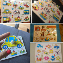 30cm Early Educational Wooden Puzzle Toy