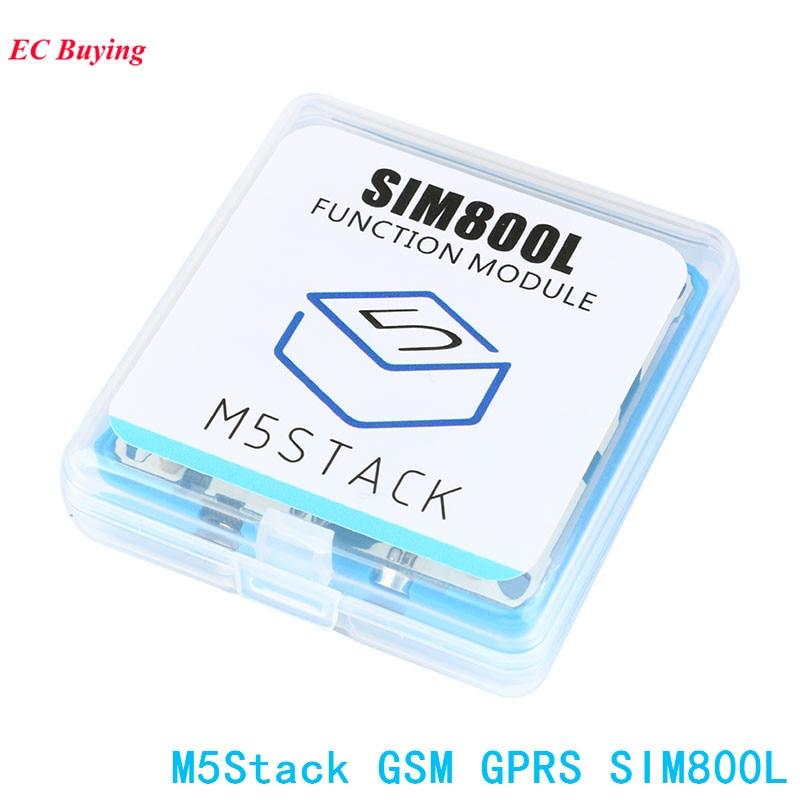 M5Stack Modulo GSM GPRS Bordo SIM800L ESP32 Scheda di Sviluppo per Arduino ESP32 Elettronico PCB FAI DA TEM5Stack Modulo GSM GPRS Bordo SIM800L ESP32 Scheda di Sviluppo per Arduino ESP32 Elettronico PCB FAI DA TE
