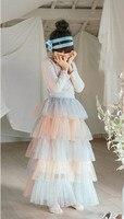 Girls Tutu Skirts Spring Summer Baby Kids Princess Clothing Children Clothes Retail Fashion Wear 1AA406SK 39R