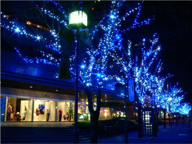 solar led lights flasher lamp set dark green line lighting string holiday decoration christmas lights lamp 10 meters waterproof