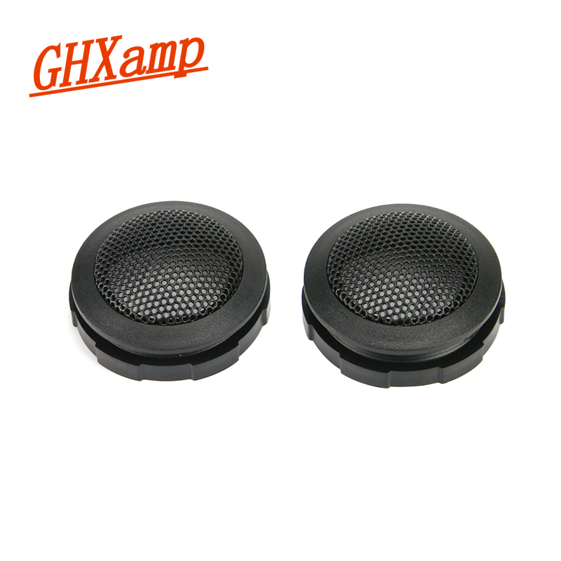 Ghxamp 2PCS 1.5 Inch Car Tweeter Speaker Grill Cover Mesh Enclosure Portable Net High-end TREBLE Loudspeaker Shell 48.5MM