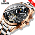 Relojes para hombre HAIQIN, relojes de moda mecánicos de lujo de marca superior, relojes de pulsera de hombre, reloj de pulsera de hombre, relojes de pulsera de oro tourbillon 2019