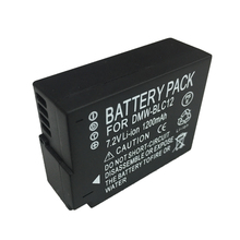 DMW-BLC12 BLC12PP lithium batteries BLC12 Digital camera battery BLC12E  For Panasonic Lumix FZ1000 FZ200 FZ300 G5 G6 G7 GH2