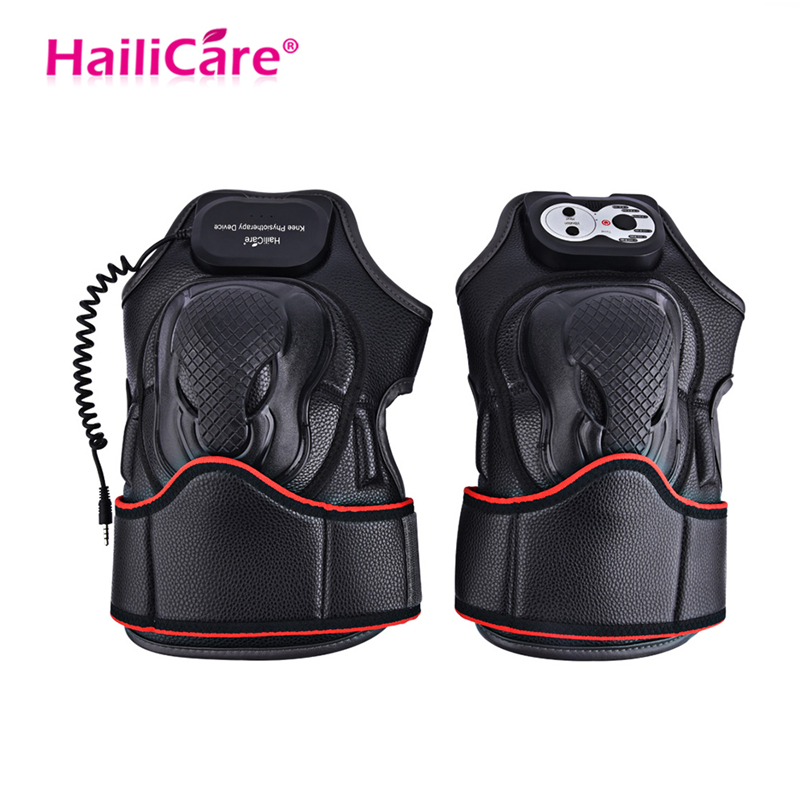Knee Care Electric Massage Pain Relief Rehabilitation Equipment Magnetic Vibration Heating Massager Joint Physiotherapy Massage
