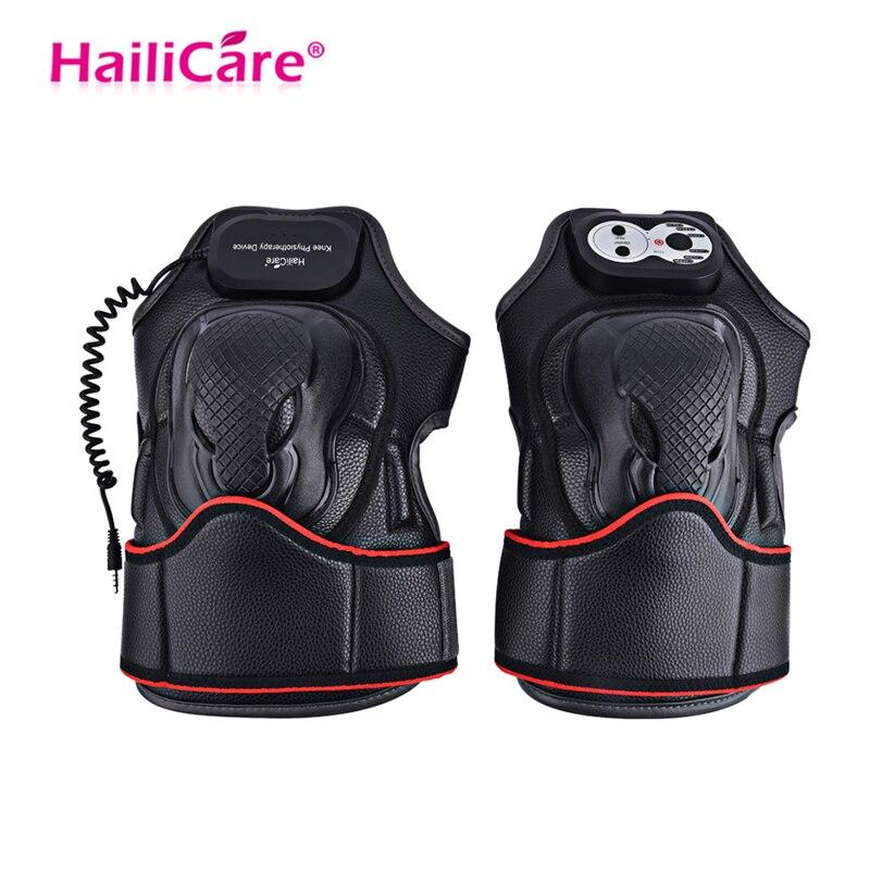 Soins du genou Massage électrique soulagement de la douleur équipement de réadaptation Vibration magnétique masseur de chauffage Massage de physiothérapie commune