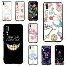 Fashion Alice in Wonderland Phone Cover for Huawei