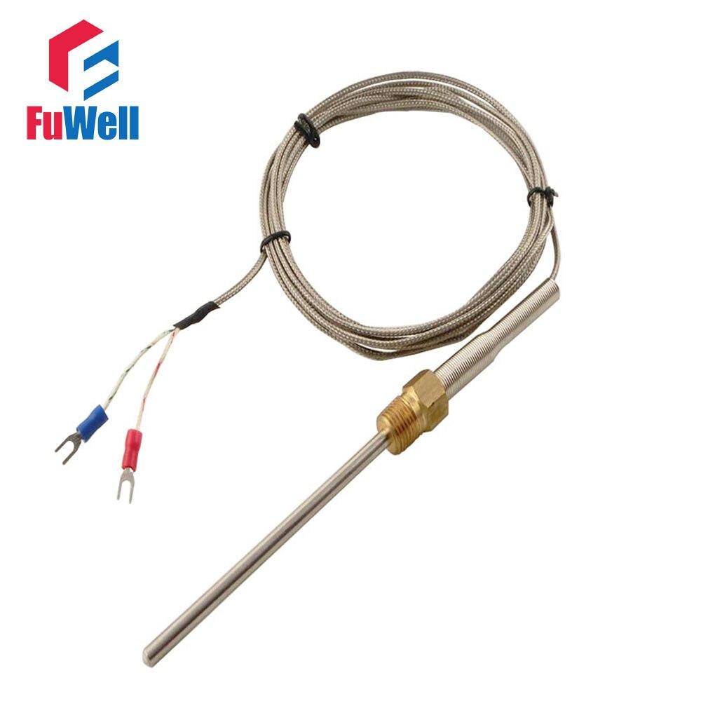 Type K Thermocouple 5x50mm Probe M13 Thread Diameter 1m/2m/3m/4m ...