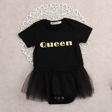 NEW 2016 Baby short sleeve Baby rompers baby girls dress tutu skirts clothing set Infant Princess rompers Jumpsuit free shipping