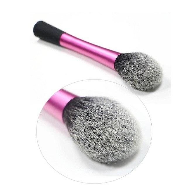 Super Włosy Syntetyczne Cosmetic Powder Mieszanie Makeup Szczotki Rumieniec Contour