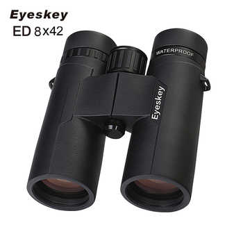 ED 8X42 Eyeskey Binoculars IPX8 Waterproof Professional Camping Hunting Telescope Zoom Bak4 Prism Optics With Binoculars Strap - DISCOUNT ITEM  49 OFF Sports & Entertainment