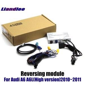 Image 3 - Actualización de pantalla de coche para Audi A6 A6L 2008 2009 2010 HD, decodificador de pantalla, reproductor, imagen de cámara de estacionamiento trasera y inversa