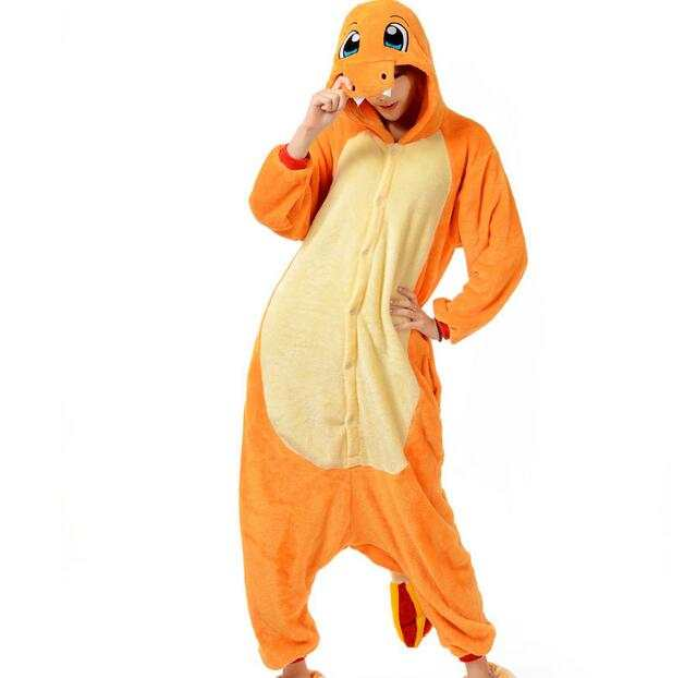Online Shop Pop Anime Pokemon Charizard Jumpsuit Pajamas Pyjamas