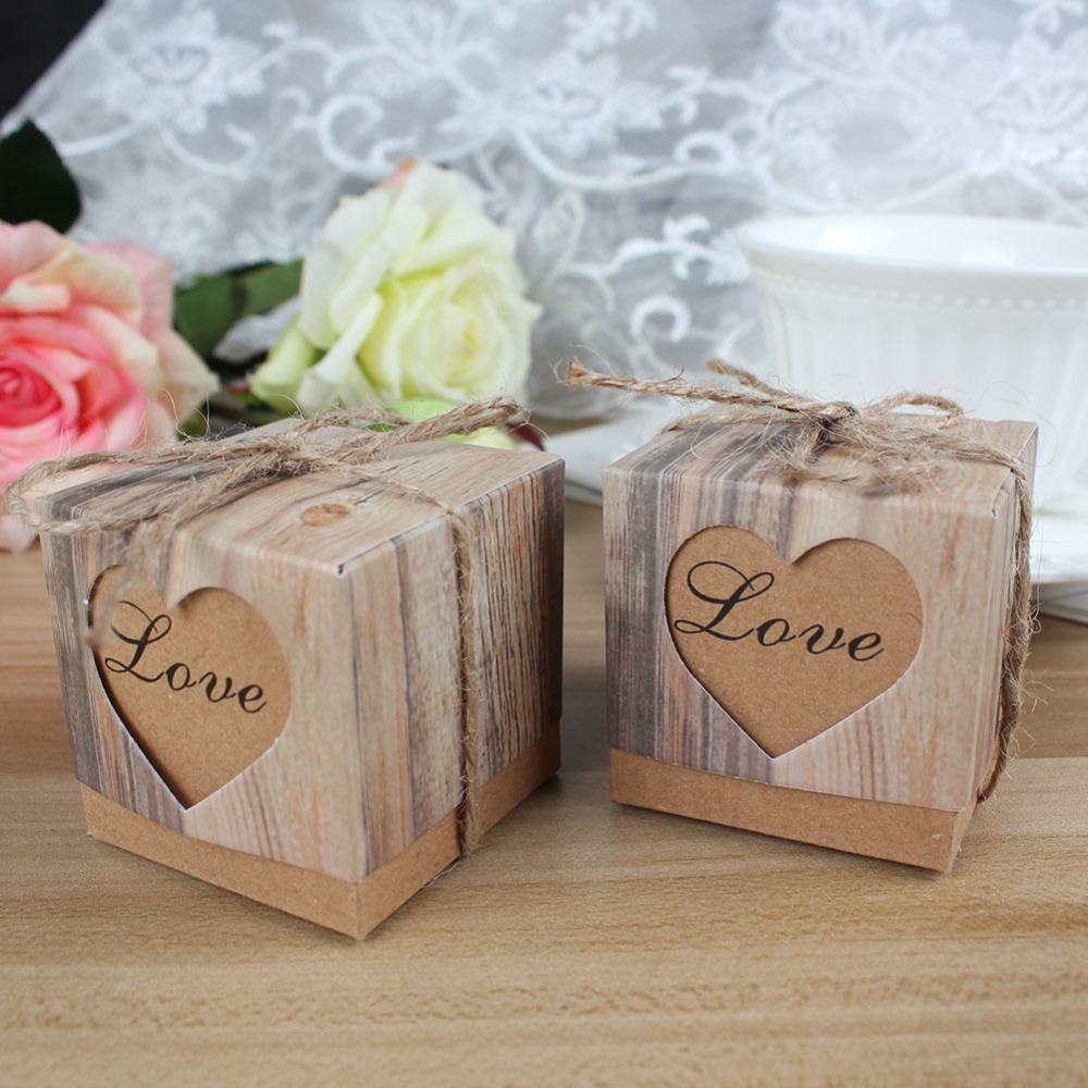 Online buy wholesale wedding favor boxes from china for Wedding favor supplies