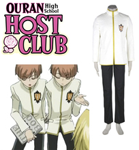 Free Shipping Ouran High School Host Club Boys' School Uniform Anime Cosplay Costume