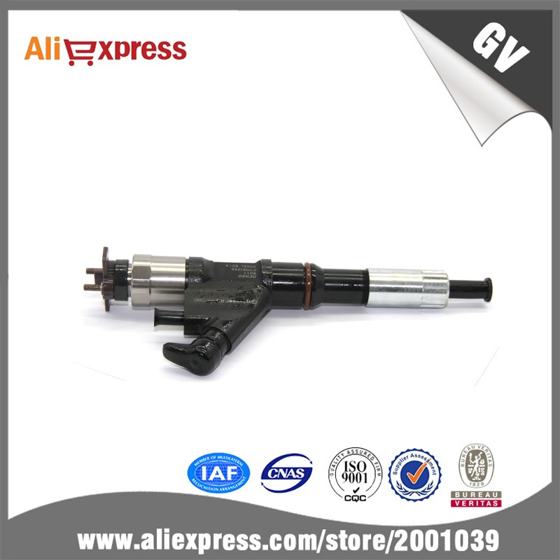 Factory price, 095000 8011 Injector for Denso, diesel fuel Injector ,common rail injection parts for diesel engine