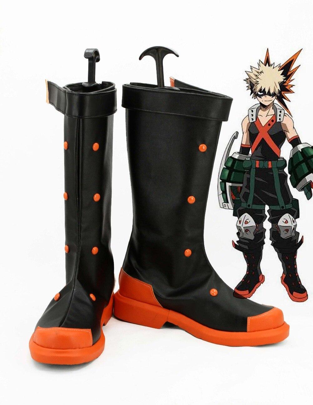 Boku no Hero Academia My Hero Academia Katsuki Bakugou Cosplay Shoes Anime boots Custom made