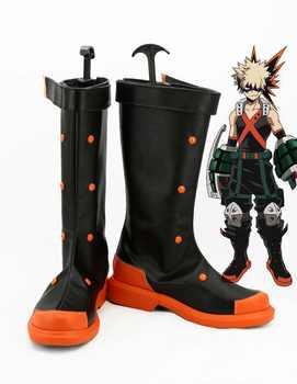Boku no Hero Academia/My Hero Academia Katsuki Bakugou Cosplay Shoes Anime boots Custom-made - DISCOUNT ITEM  18% OFF All Category