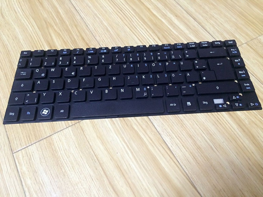 New notebook laptop keyboard for Acer Aspire V3-431 V3-471 V3-471G V3-472 V3-472G V3-472P V3-472PG V3-372 GR/German  layout new laptop keyboard for acer aspire vn7 791 vn7 791g ru russian layout