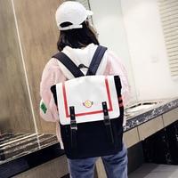 Аниме Cardcaptor Sakura искатель карт Sakura 1 шт. Сейлор Мун крыла косплейный школьный ранец с двойным ремешком и пряжкой рюкзак сумка