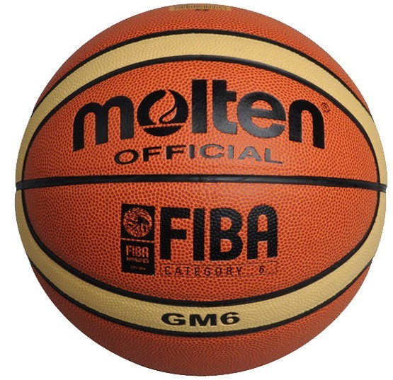 NEW Brand High Quality Genuine Molten GM6 Basketball Ball PU Materia Official Size6 Basketball Free With Net Bag+ Needle+Pump