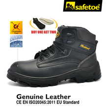 Фотография Safetoe brand fashion design ankle safety boots casual for men and women