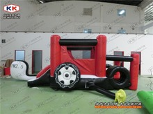 new design inflatable bouncer/ car inflatable jumping tranpoline