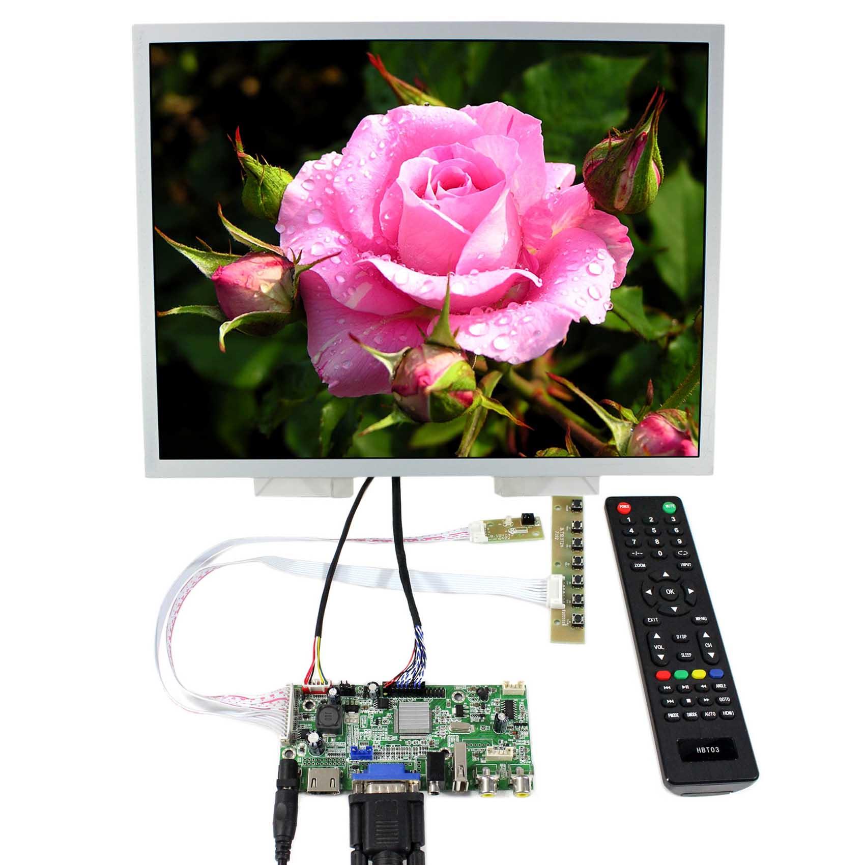 HDMI VGA 2AV USB аудио LCD плата драйвера 15 дюймов LQ150X1LG96 1024x768 ЖК дисплей