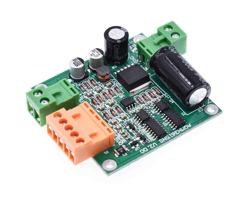 12/24/36V 360W high-power DC motor drive plate / module H bridge is reversible, full PWM
