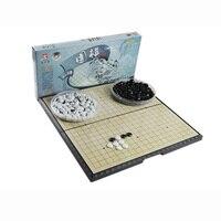 Portable Magnetic Foldable Board 28 28cm Checkerboard 1 23 0 48cm Chessman Chess Set GameTravel Board