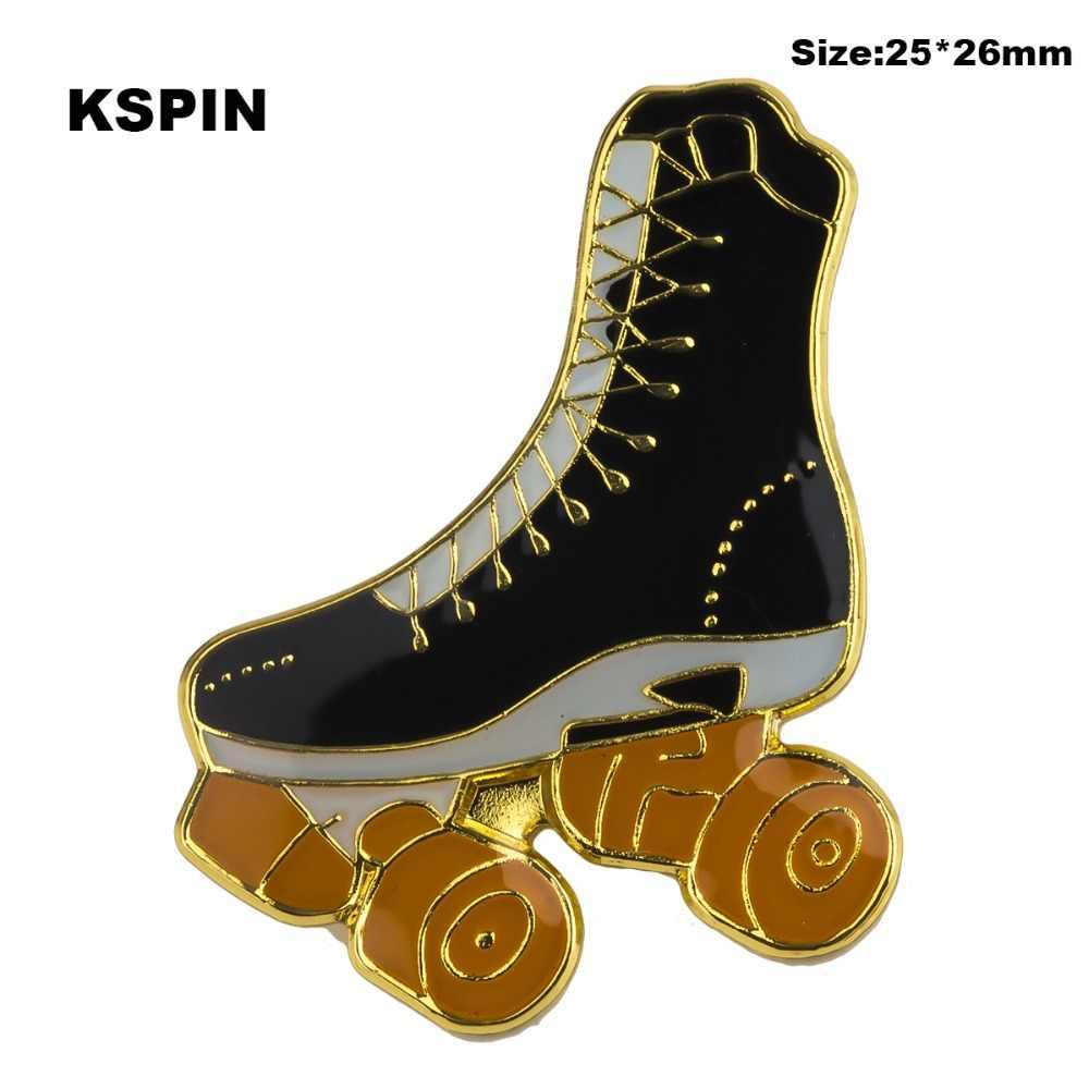 Paten yaka rozetleri giysi kayak ayakkabıları Rozety Papierowe Icon sırt çantası 1 adet XY0326