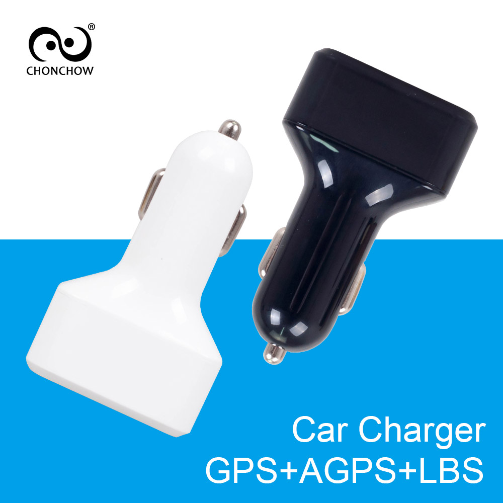 CHONCHOW Mini GPS Tracker Car Charger for Phone Buitl in GPS Listening Device GPS+AGPS+LBS Location Tracking White and Black academic listening encounters life in society listening note taking discussion teacher s manual