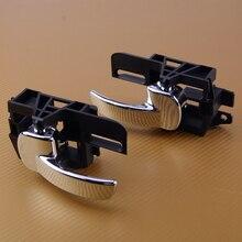 CITALL 80671JD00E 1 пара Передняя Задняя левая и правая внутренняя дверная ручка для Nissan Qashqai 2007-2009 2010 2012 2013 2011