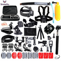 50-in-1 Sports Action Camera Accessories Kit for Gopro HERO 5 5S 3 3+ 4  SJ5000 Waterproof Video Camera with Carrying Case GS24