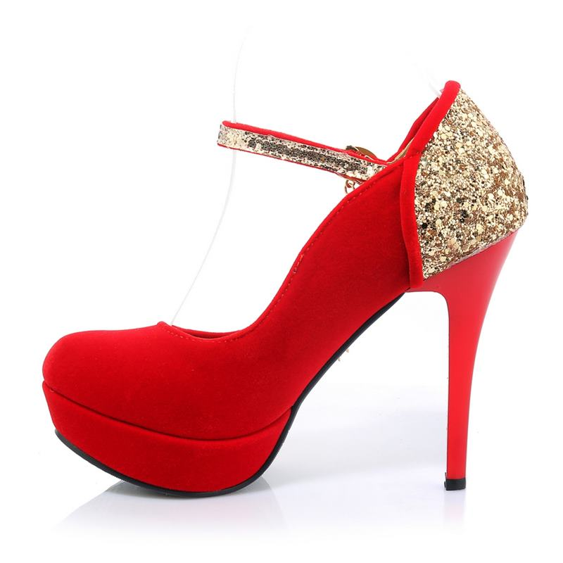 Asumer Plus size 34 42 NEW Fashion high quality women pumps flock glitter  tassel round toe platform party wedding shoes woman-in Women s Pumps from  Shoes on ... 7892dc7a458e