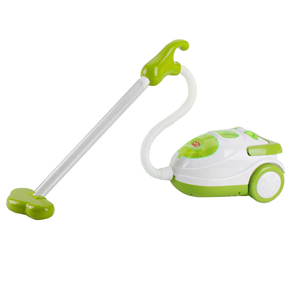 Junge Vorschule Rolle Spielen Home Appliance Den Haushalt/Küche Möbel Spielzeug Pretend Spielen Spaß-Staubsauger Grün