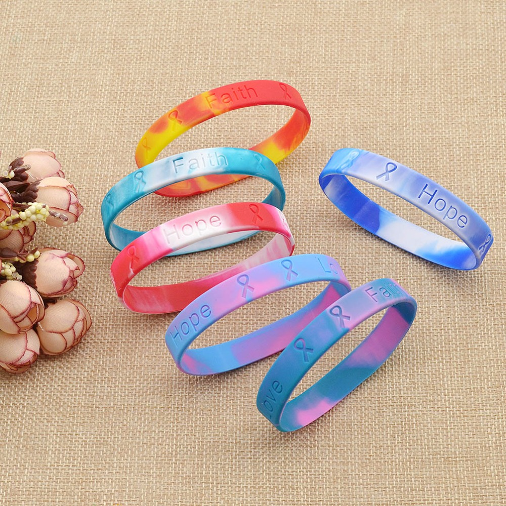 Rose Bracelet Pour Le Cancer Du Sein-Achetez des lots