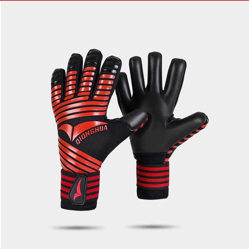 Brand Professional Goalkeeper Gloves without Finger Protection Thickened Latex Soccer Football Goalie Gloves Goal keeper Gloves