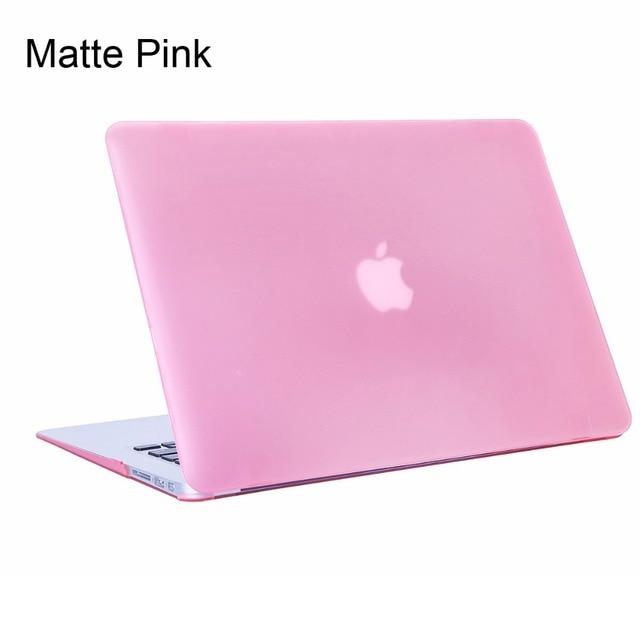 16 Colors Matte Case For Apple MacBook Air 11 13 Laptop Case For Mac ...