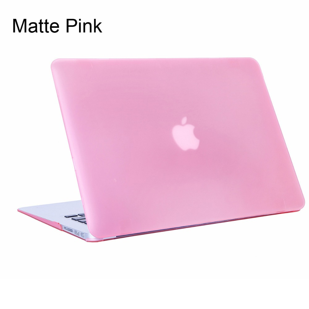 16 Colors Matte Case For Apple MacBook Air 11 13 Laptop Case For Mac Book Pro 13 15 Retina 12 13 15 Cover Laptop Cases Bag ...