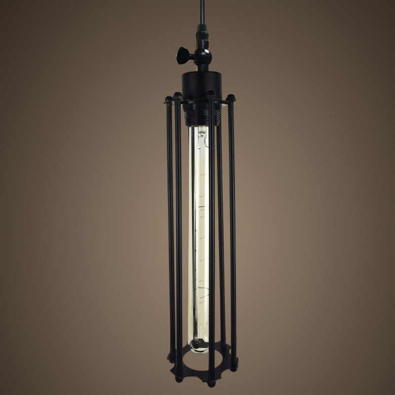 Винтажный кантри Ретро подвесные светильники паровой панк промышленный стиль с одной головкой с Эдисоном лампочки коридора ресторана Лампы