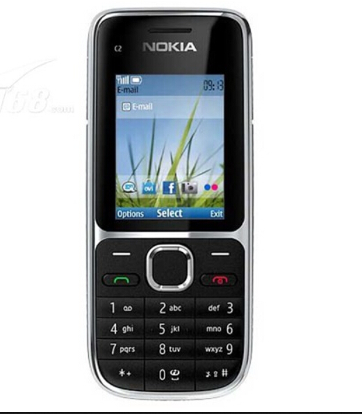 Original Nokia C2 C2-01 Unlocked Mobile Phone Refurbished Cellphones Hebrew Russian