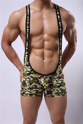 Marca mens undershirt wrestling singlet roupa interior sexy Perfurado regatas undershirt dos homens spandex bodysuit macacão cintos