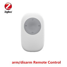 Zigbee Smart alarm remote controller with multi-function of arm disarm SOS home alarm function