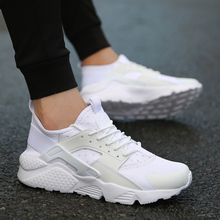 Chaussures Homme Sport Chaussures de Course Pas Cher 2018 Marque Sneakers Blanc Chaussures Zapatillas Hombre Deportiva Respirant Masculino Esportivo(China)