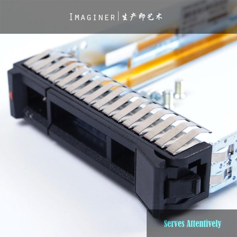 "4PCS 2.5/"" SAS//SATA Drive Caddy Tray 00E7600 for IBM System x3250 x3550 M5 M6"