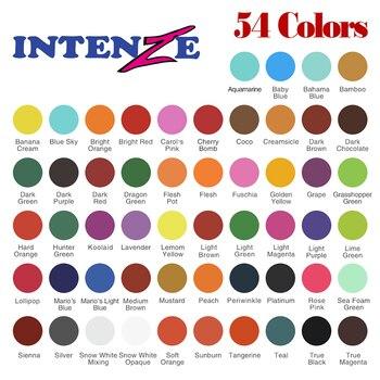 54 Basic Colors Tattoo Artist Ink Set Tattoo & Body Art Permanent Makeup Microblading Pigment Kit Tattoo Supplies 1 Oz(30ml)